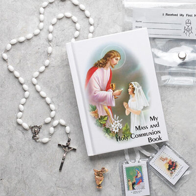First Holy Communion Gift Set Traditional Edition- Girl