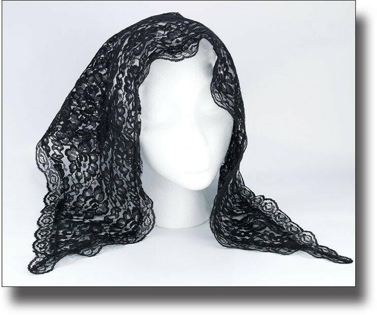 Black Lace Mantilla
