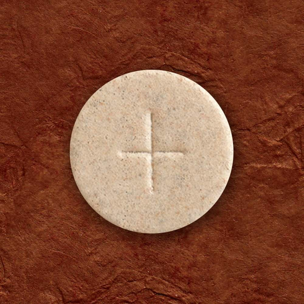 "1 3/8"" Cavanagh® Whole Wheat Altar Bread, Box of 1,000"