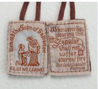 Brown Cloth Scapular