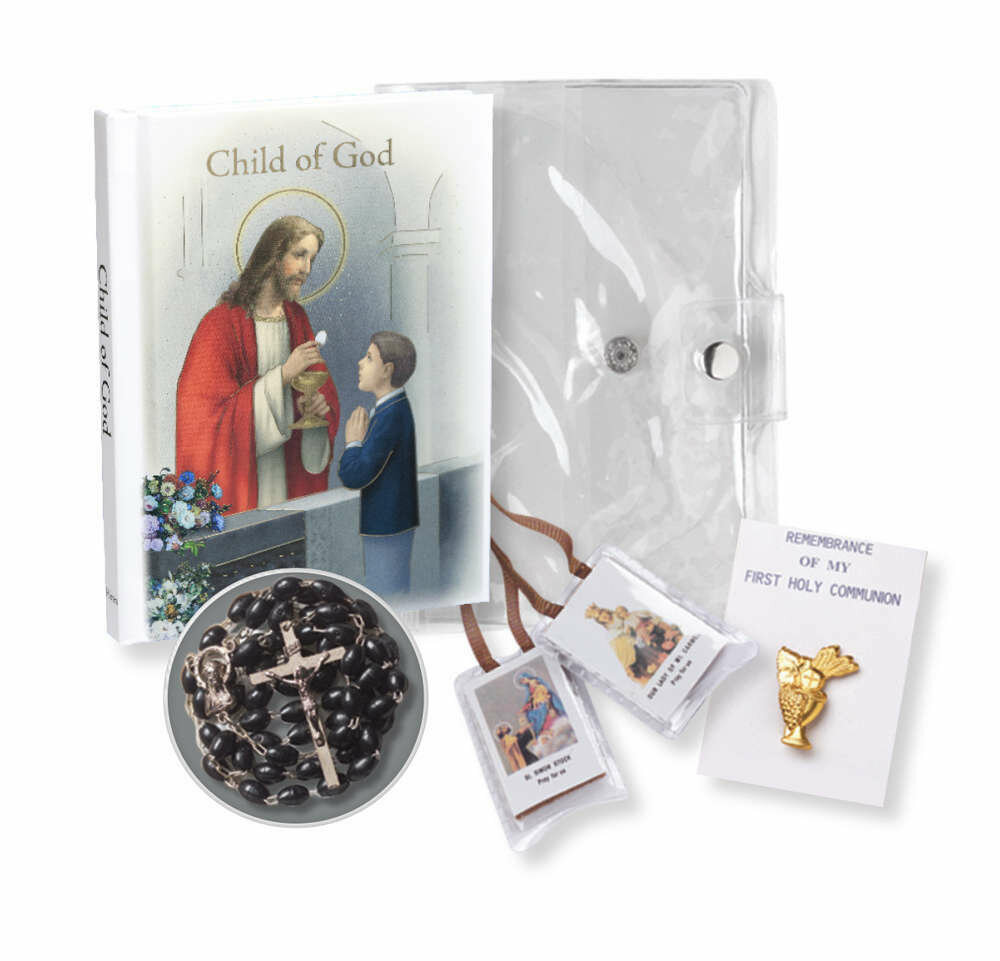 "Child Of God ""Communion Memories"" Edition Boy's Gift Set"