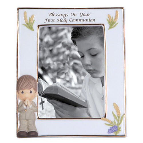 Blessings On Your First Holy Communion, Boy Photo Frame