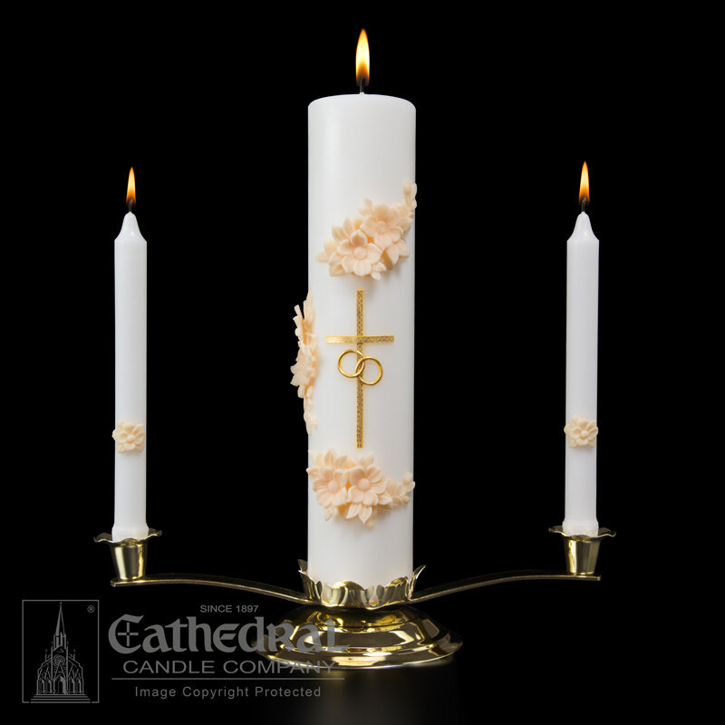 Holy Matrimony Ensemble- Gold/Cream