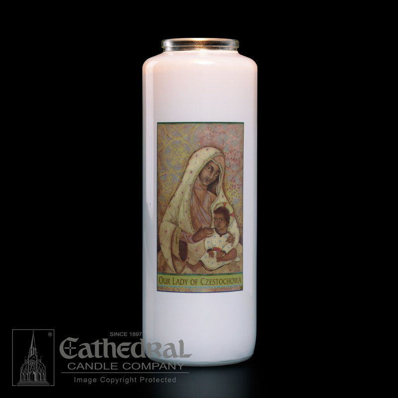 Our Lady of Czestochowa, Case of 12 Candles