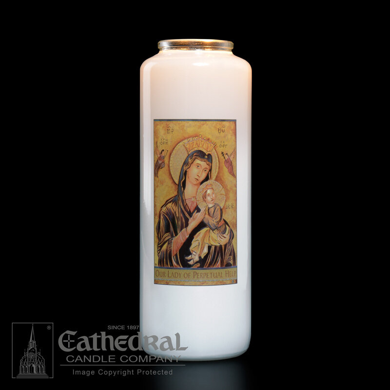 Our Lady of Perpetual Help, Case of 12 Candles