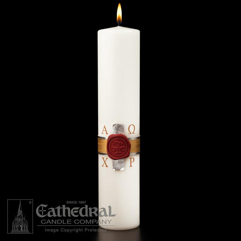 Anno Domini Christ Candle