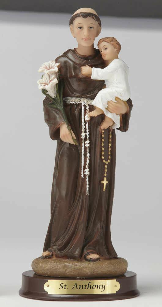 "8"" St. Anthony Statue"