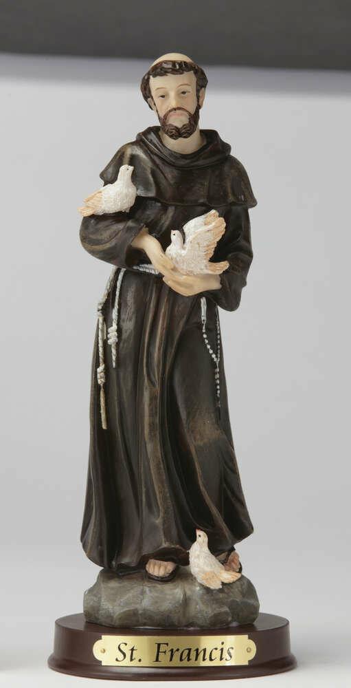 "12"" St. Francis Statue"
