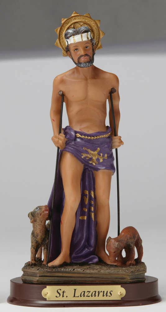 """8"""" St. Lazarus Statue"""