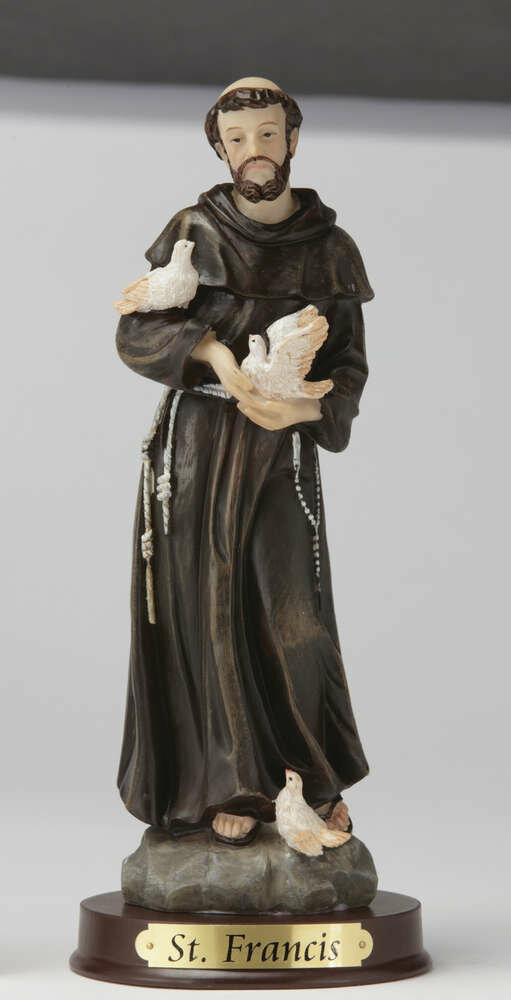 "8"" St. Francis Statue"