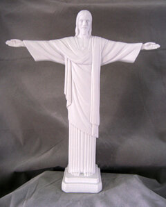 "11"" Christ The Redeemer, White"