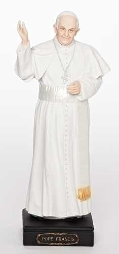 """10.75"""" Pope Francis Statue"""