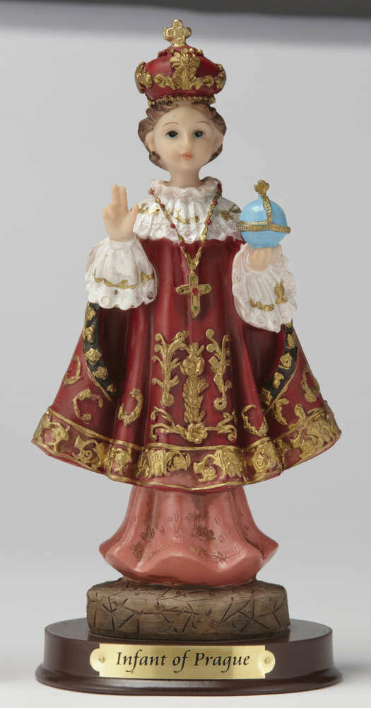 "8"" Infant of Prague Statue"