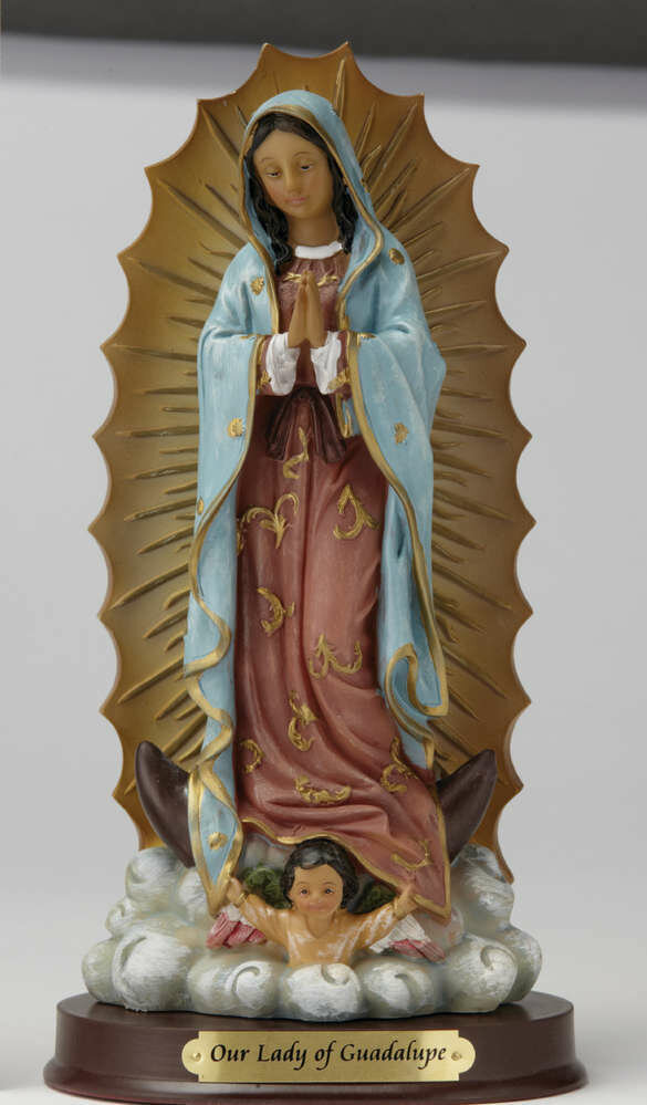"8"" Our Lady of Guadalupe Statue"