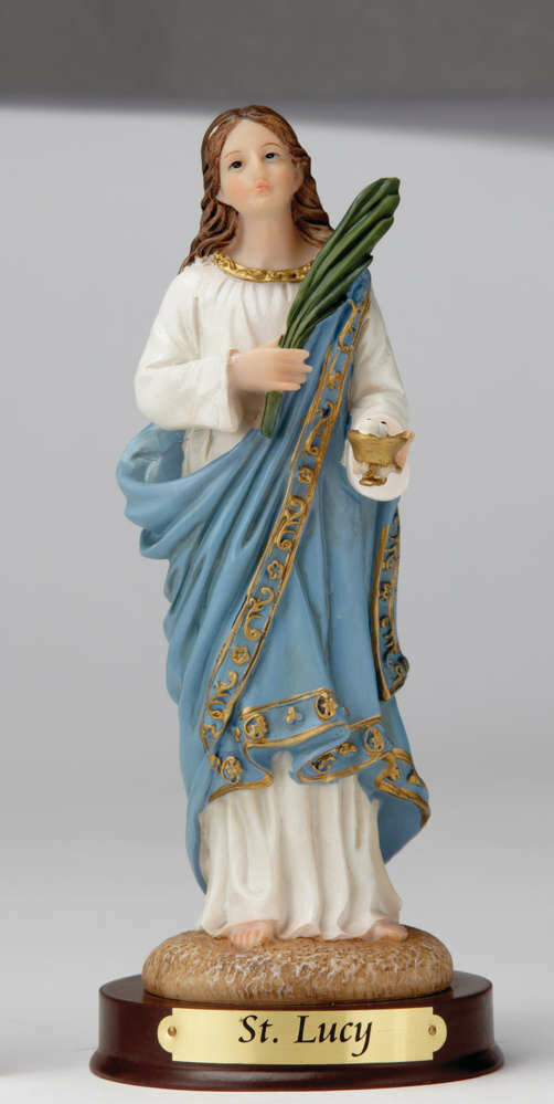 """8"""" St. Lucy Statue"""