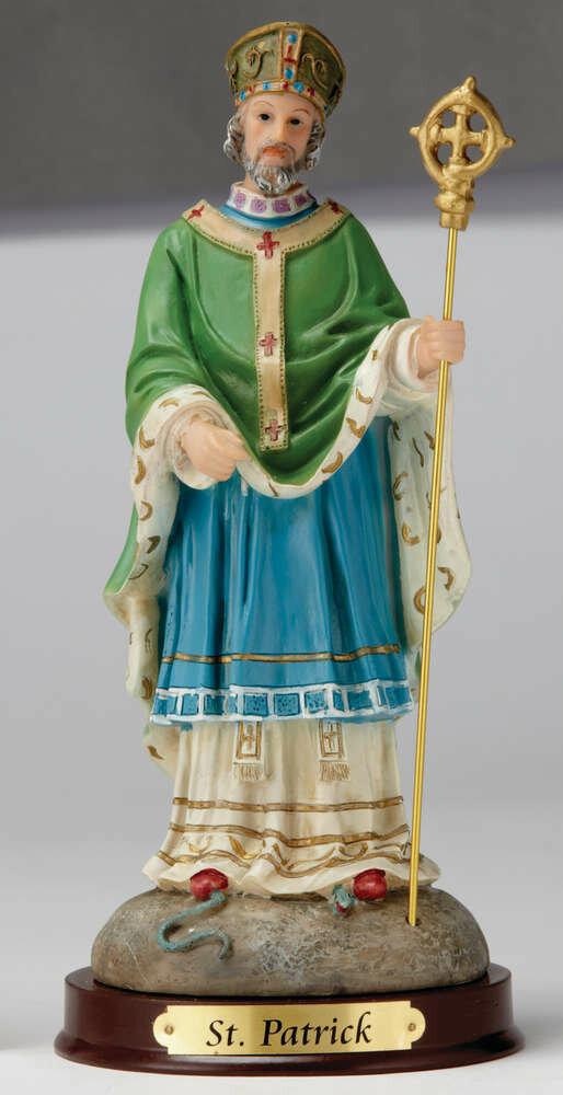 "8"" St. Patrick Statue"