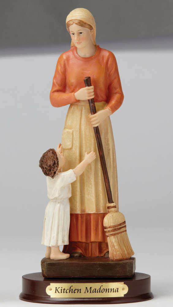 """8"""" Kitchen Madonna Statue"""