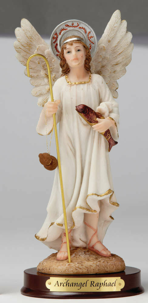 "12"" Archangel Raphael Statue"