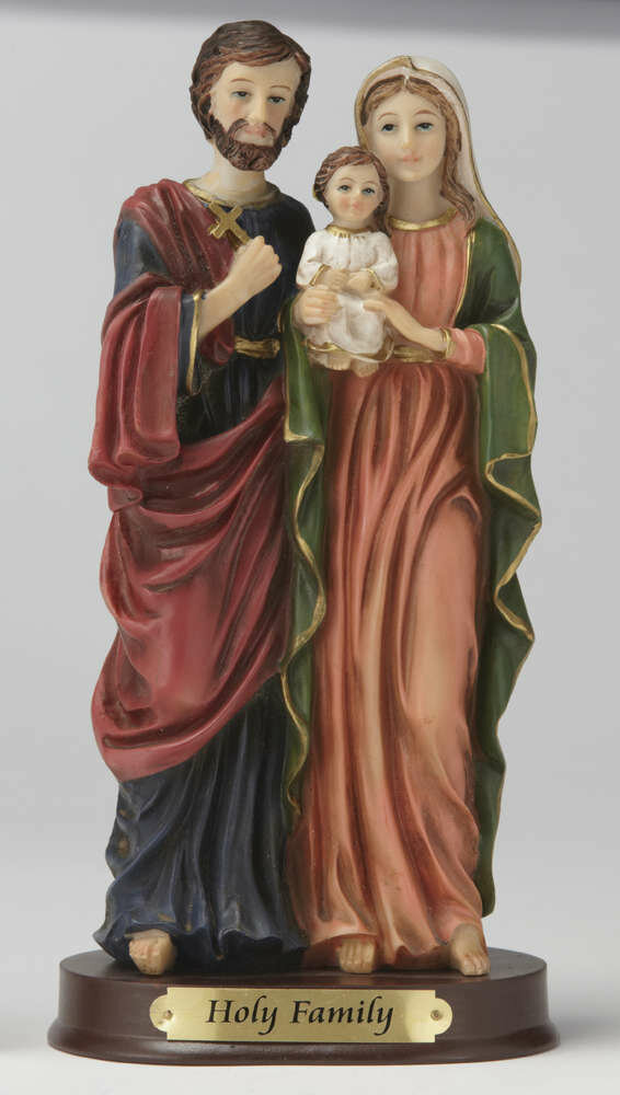 "12"" Holy Family Statue"