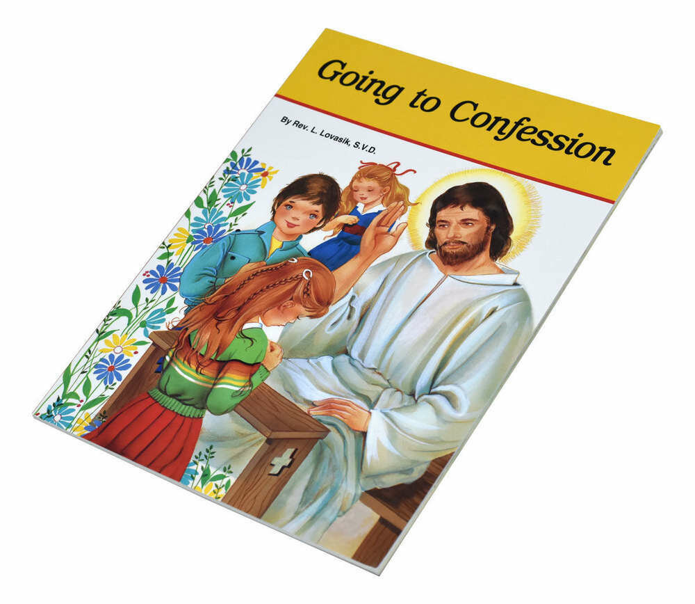 Going to Confession Children's Picture Book