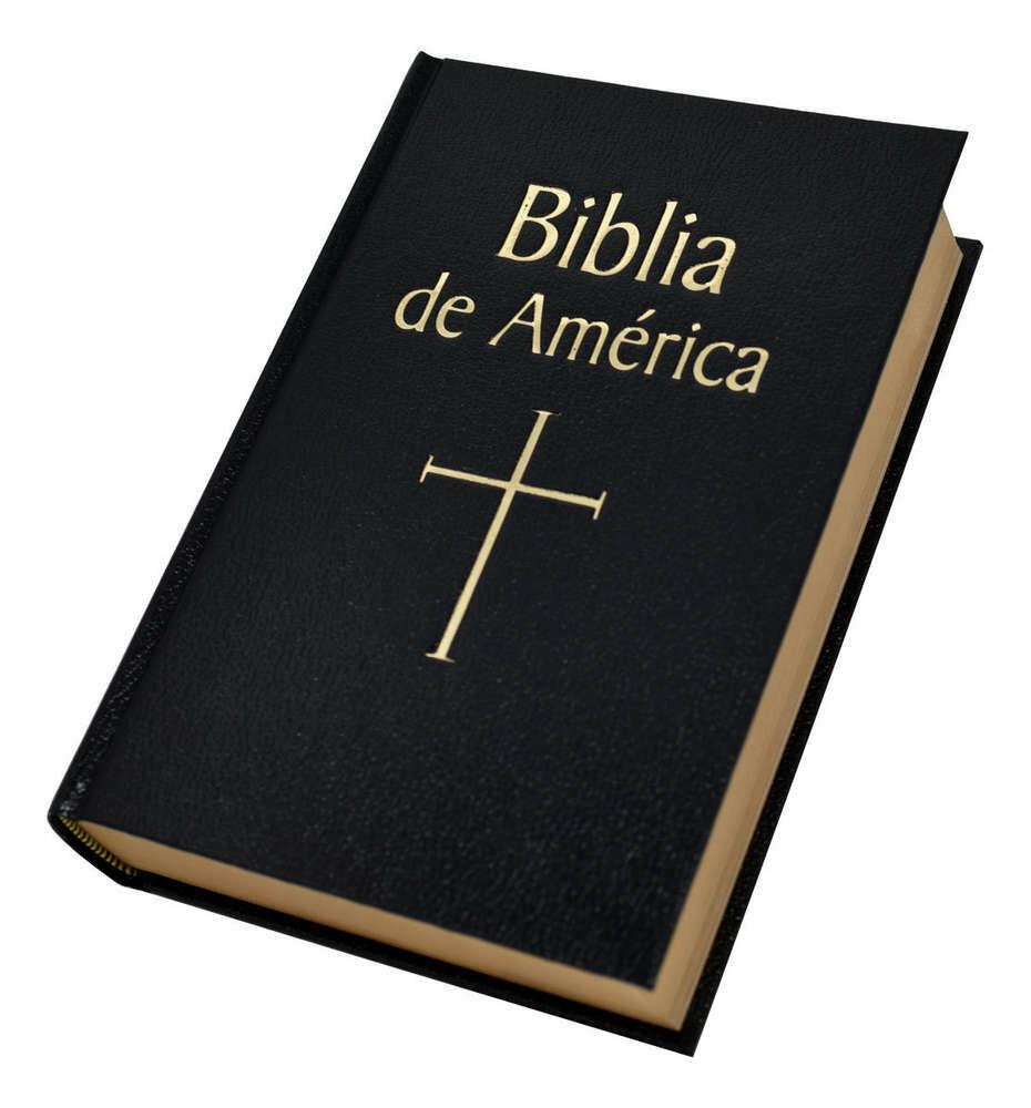 Biblia De America- Black Hardcover