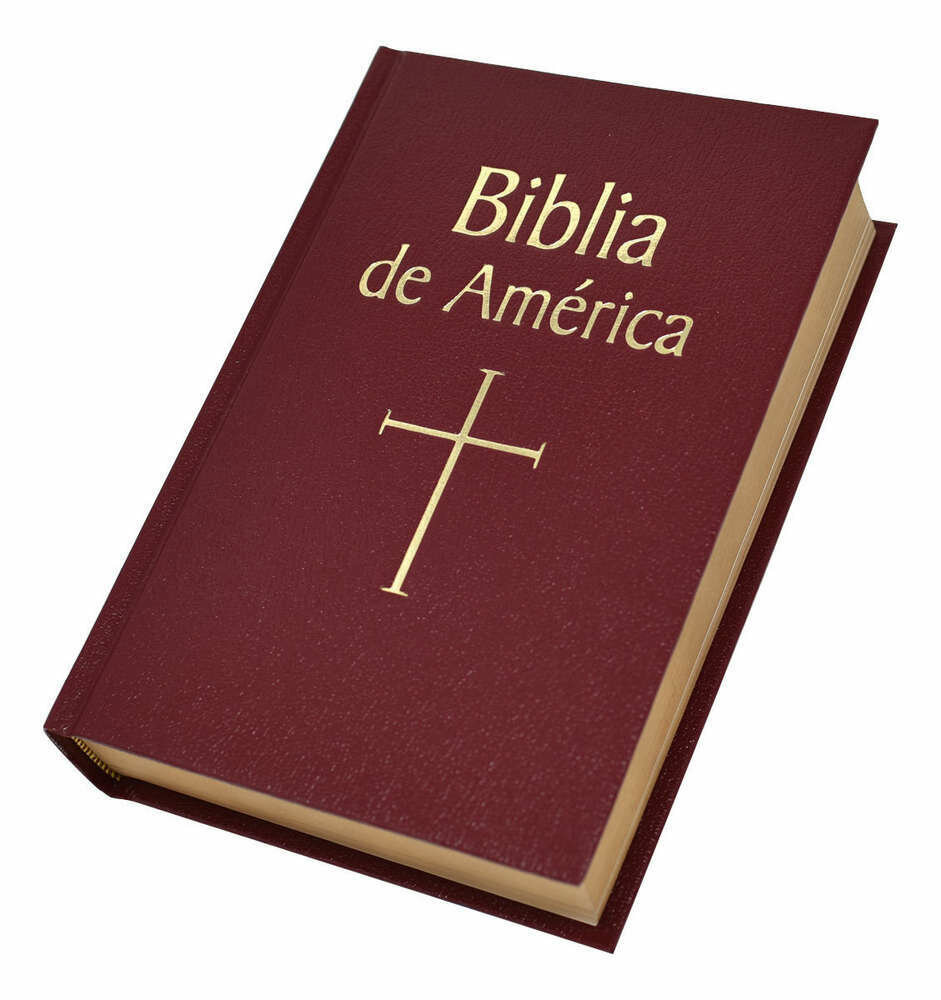 Biblia De America- Burgundy Hardcover