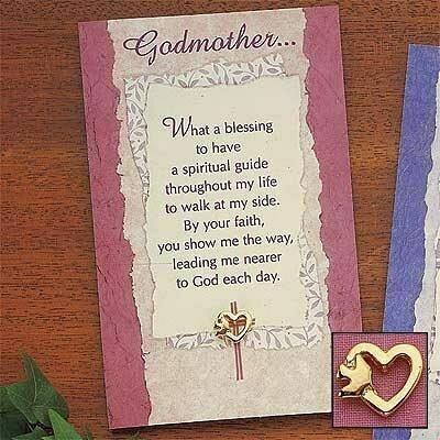 Godmother Pin and Card Set