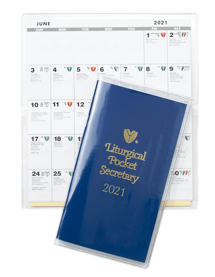 2021 Liturgical Pocket Secretary
