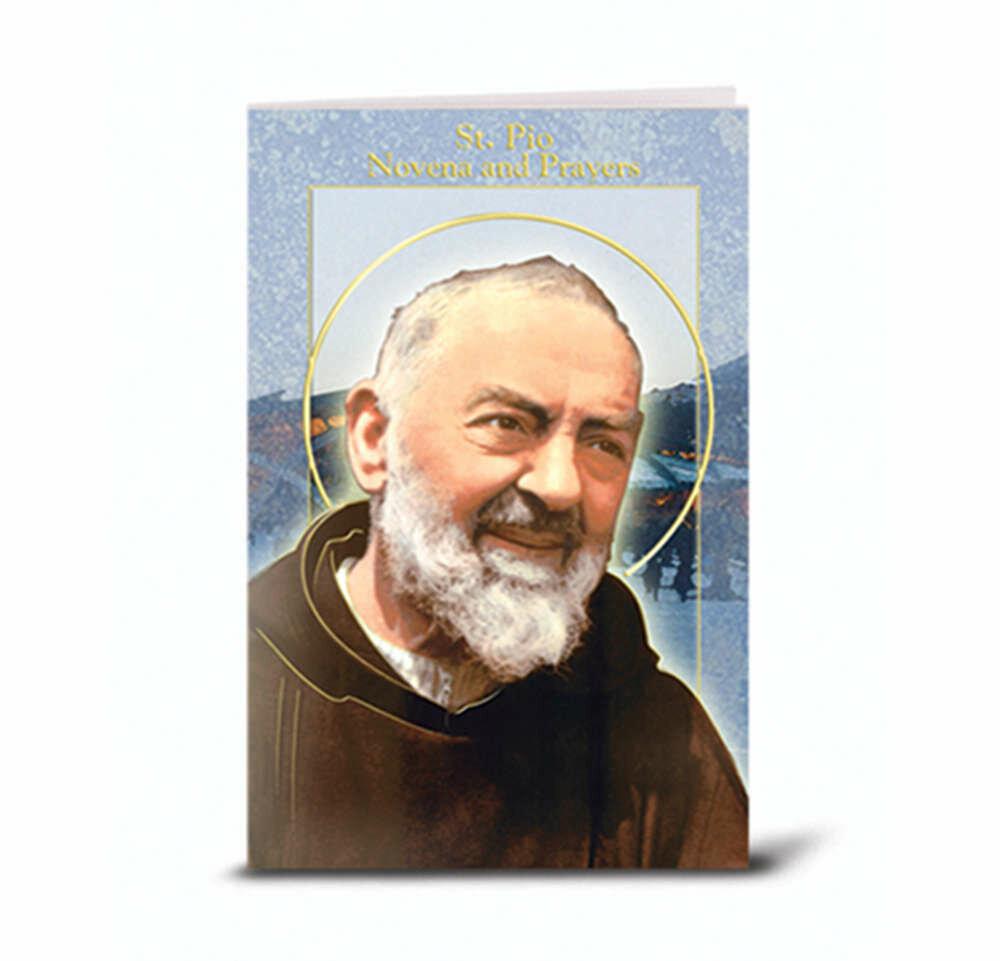 St. Padre Pio Novena Book