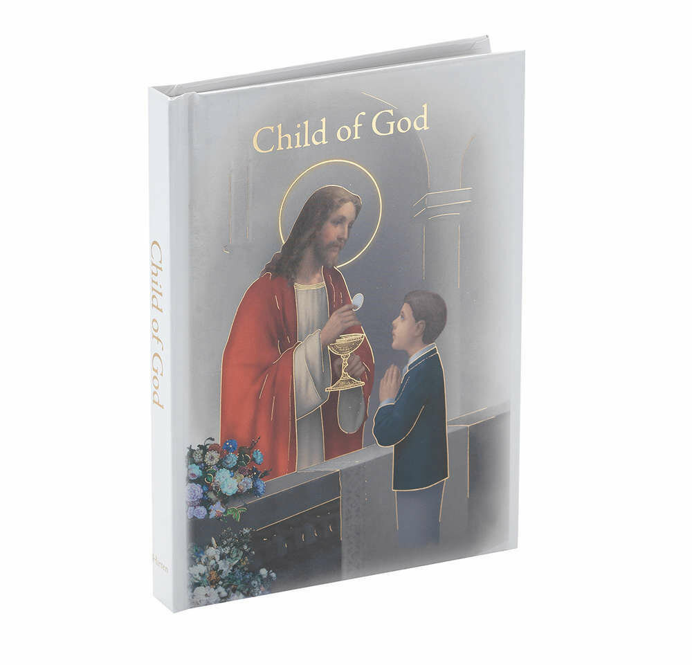 "Child Of God ""Communion Memories"" Edition Boy's Prayer Book"