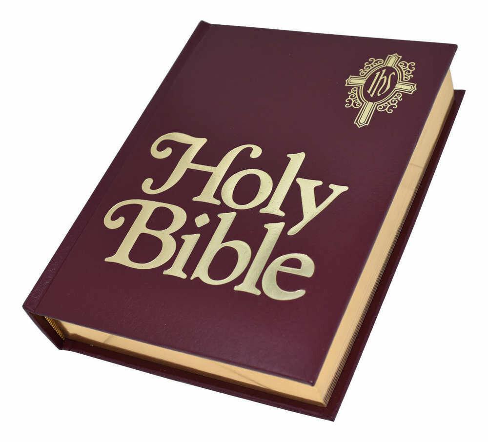 NABRE Catholic Family Bible- Burgundy