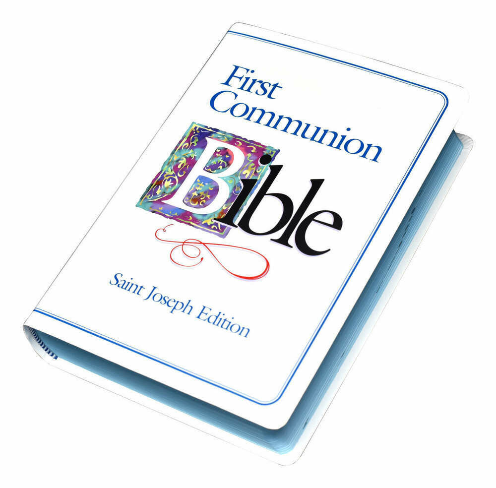 First Communion Bible- Boy (St. Joseph Edition)