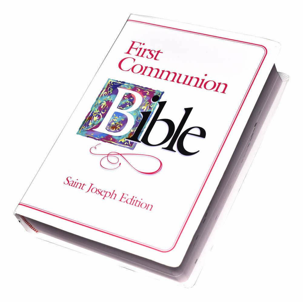 First Communion Bible- Girl (St. Joseph Edition)