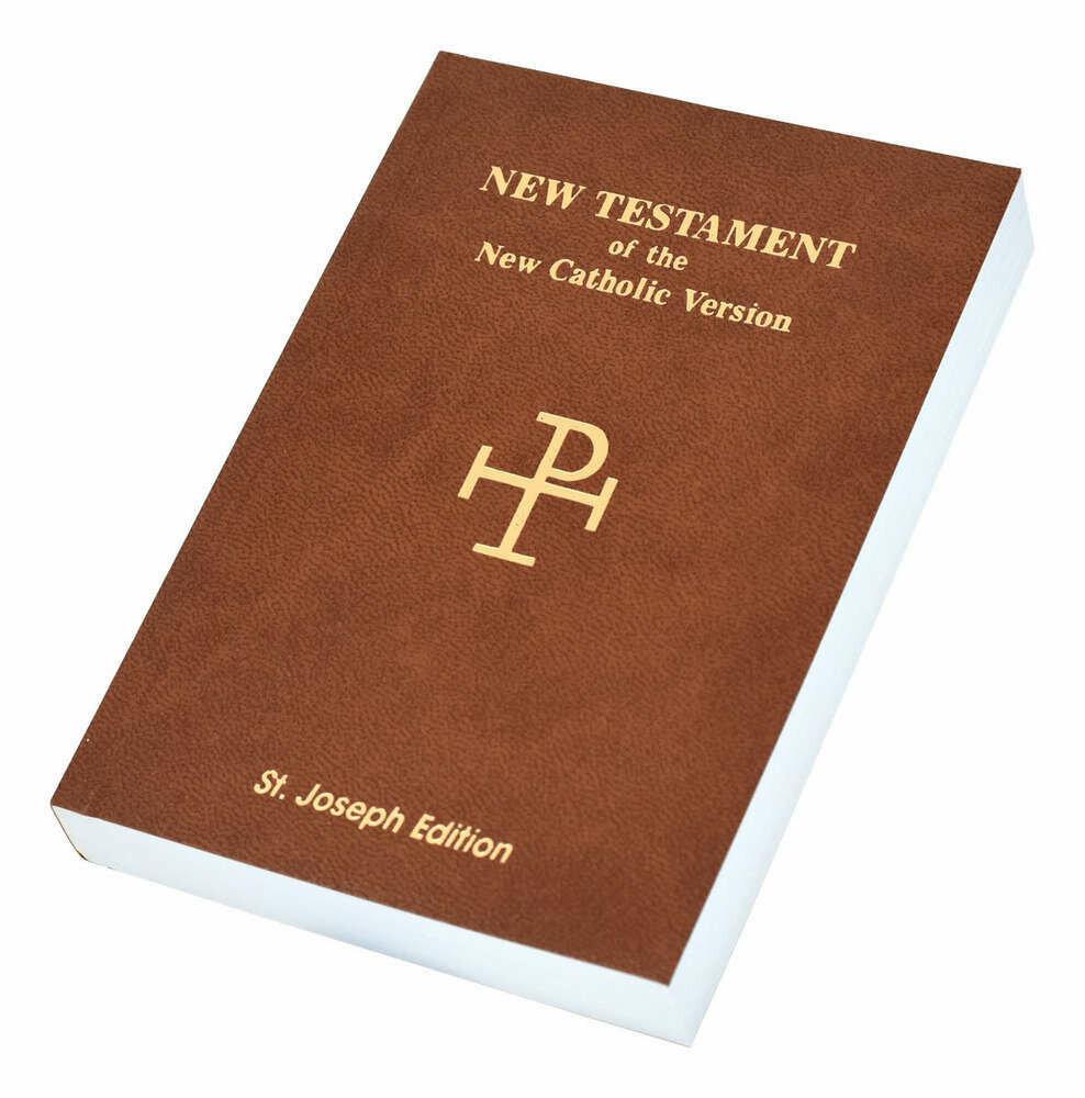 St. Joseph NCV New Testament (Vest Pocket Edition)- Brown Flexible Cover