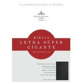 Biblia Letra Super Gigante Con Referencias-Rvr 1960