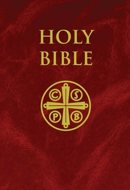 New American Bible Revised Edition (NABRE)- Burgundy Hardcover