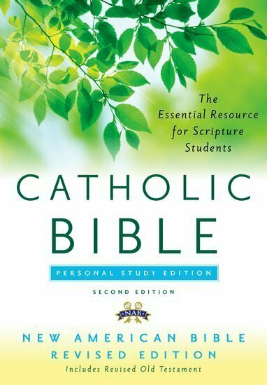 The Catholic Bible, Personal Study Edition- Paperback, NABRE