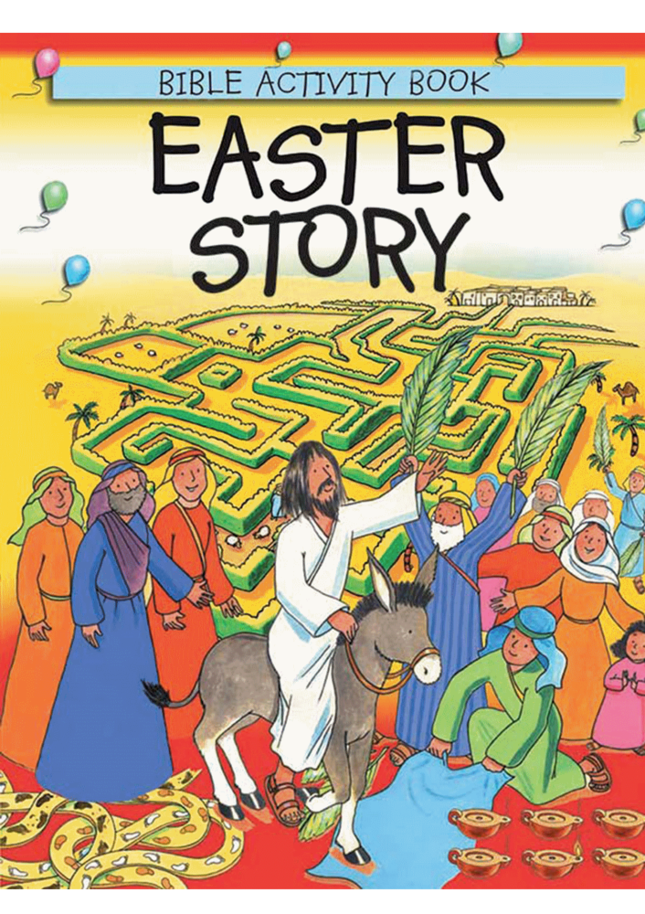 Easter Story Bible Activity Book