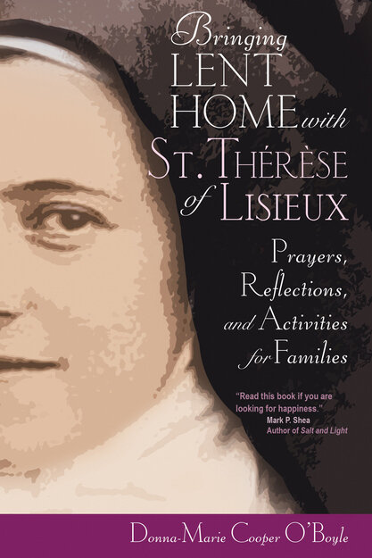 Bringing Lent Home with St. Therese of Lisieux Book