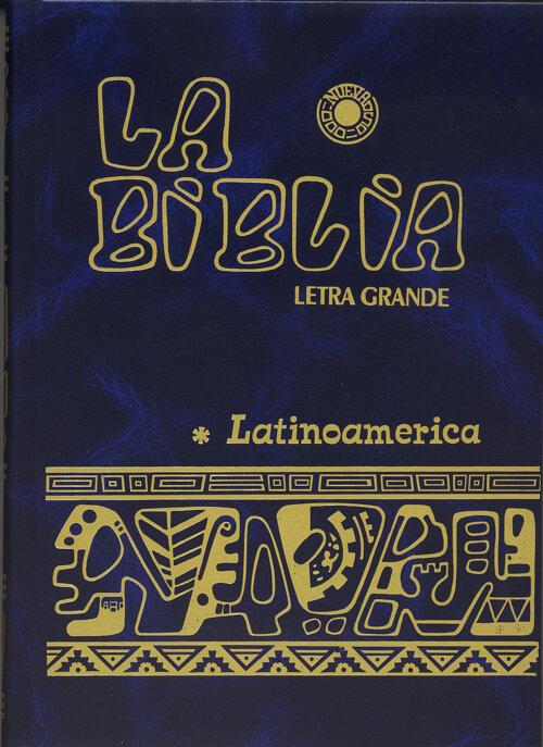 La Biblia Latinoamerica- Letra Grande, Azul