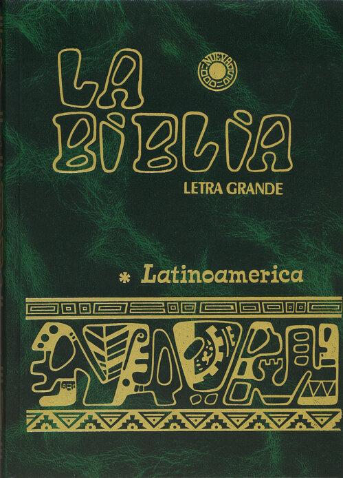 La Biblia Latinoamerica- Letra Grande, Verde