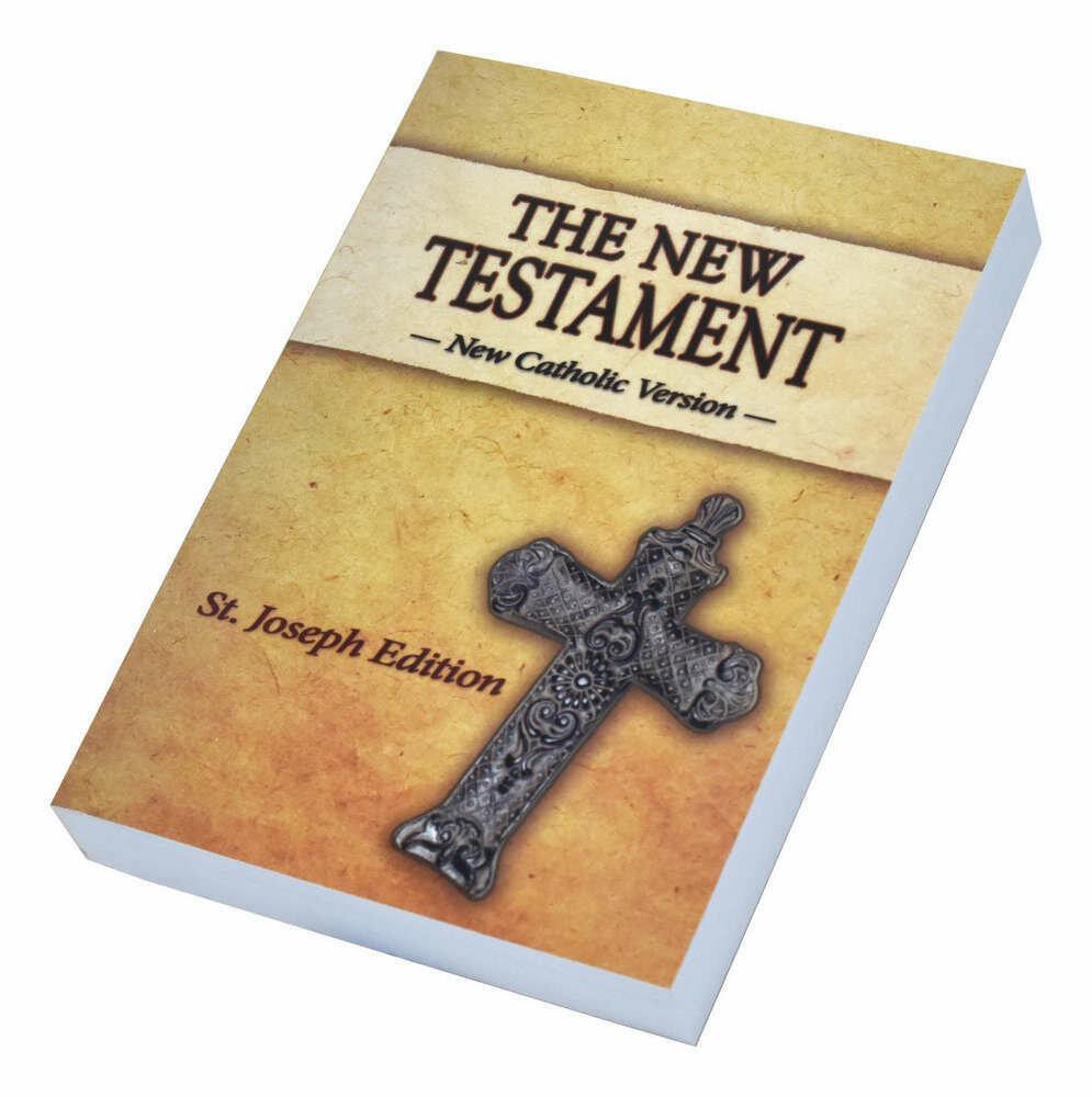 St. Joseph NCV New Testament (Vest Pocket Edition)- Paperback
