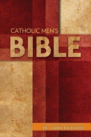 The Catholic Men's Bible- Paperback, NABRE.