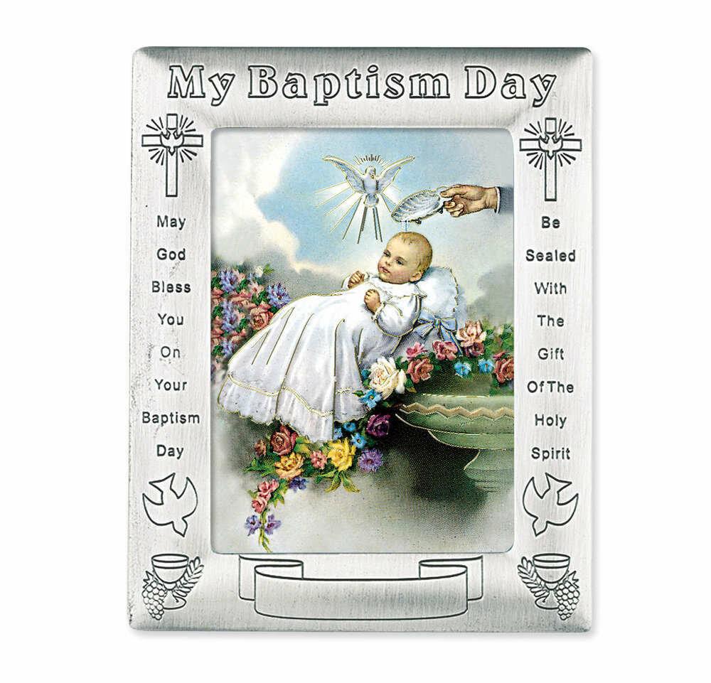 My Baptism Day Photo Frame