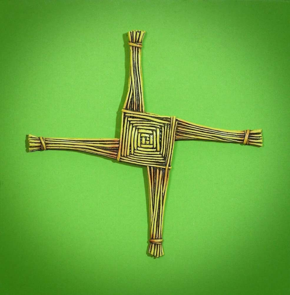 St. Brigid's Wall Cross