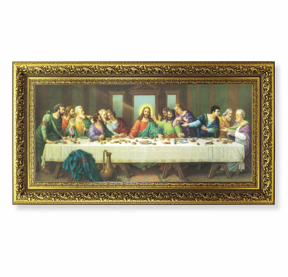 "The Last Supper- Zabateri- 14 1/2"" x 26"""