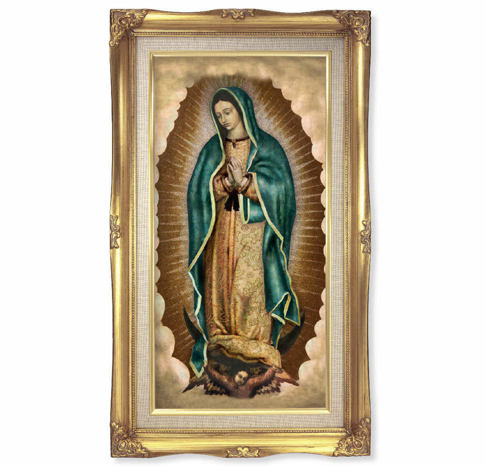 "Our Lady of Guadalupe 11 1/4"" x 18 1/2"""
