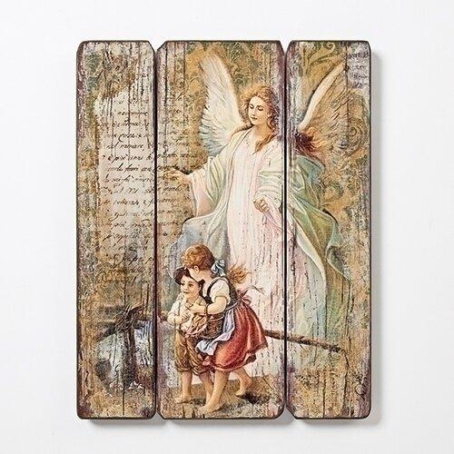 Guardian Angel Decorative Panel