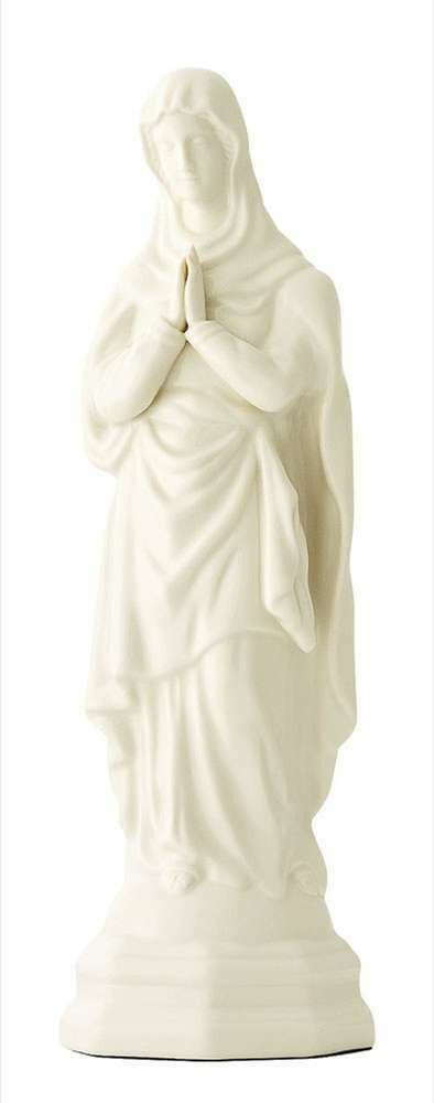 "12.3"" Belleek Blessed Virgin Mary"