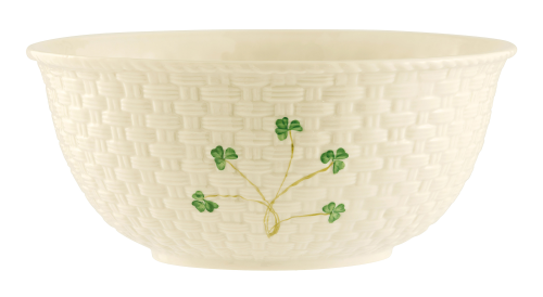 Belleek Shamrock Mixing Bowl